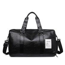 New Men's And Women's Handbags PU Waterproof Portable Travel Bag Sports Fitness Training Bag Hot Sale