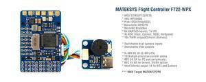 Image 1 - Контроллер полета Mateksys Matek F722 WPX STM32F722 MPU6000 DPS310 Pixel OSD Blackbox F722