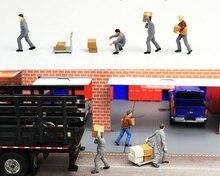 Масштаб 1:64, каучуковая модель автомобиля, модель сцены, набор кукол, коллекционное украшение, игрушечная сцена, реквизит для расстановки