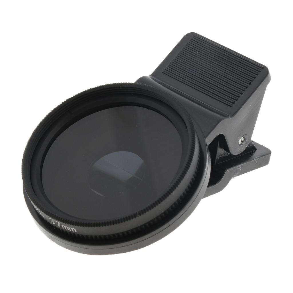 CPL фильтр объектива 37 мм круговой поляризационный фильтр объектива совместимый для мобильного телефона
