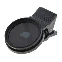 37mm Lente Filtro de Polarização Circular CPL Filtro de Lente Compatível para Celular