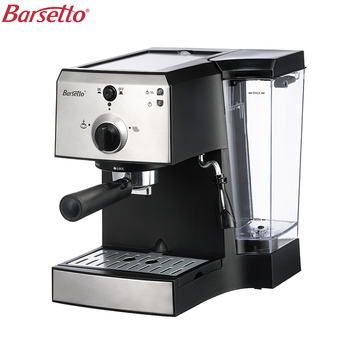 BARSETTO muti-function Coffee Machine Espresso and Milk Foam 15Bar Pump Pressure Coffee Maker-EU Plug high quality 2cups foam machine pump pressure espresso electric coffee maker drip coffee machine office