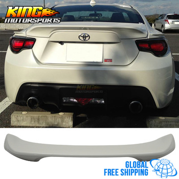 Fit For Subaru BRZ 15-17 TR Trunk Spoiler Wing Painted Crystal White Pearl #K1X Global Free Shipping Worldwide