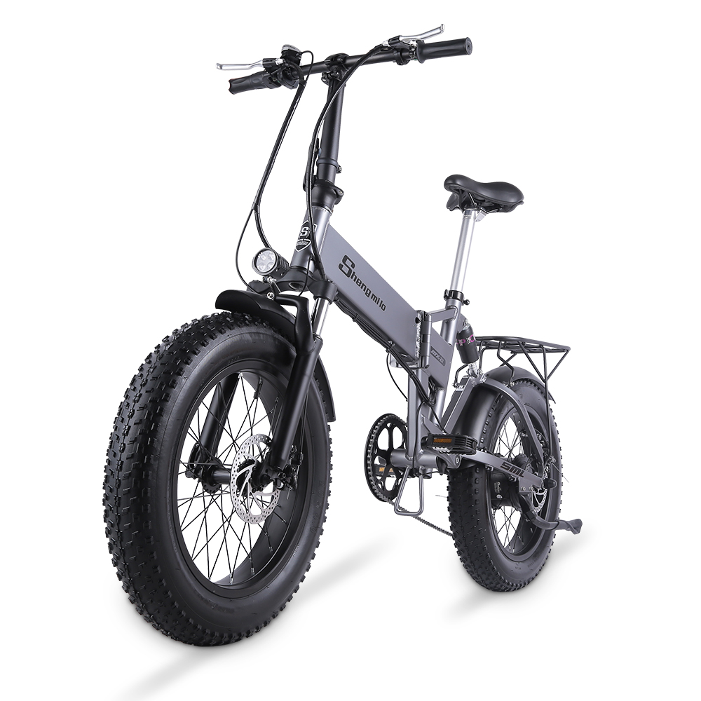 Electric Bike 500W City Bike Folding Electric Bicycle Electric Mountain Bike 20 inch 4.0 Fat Tire Ebike 48V Lithium Battery