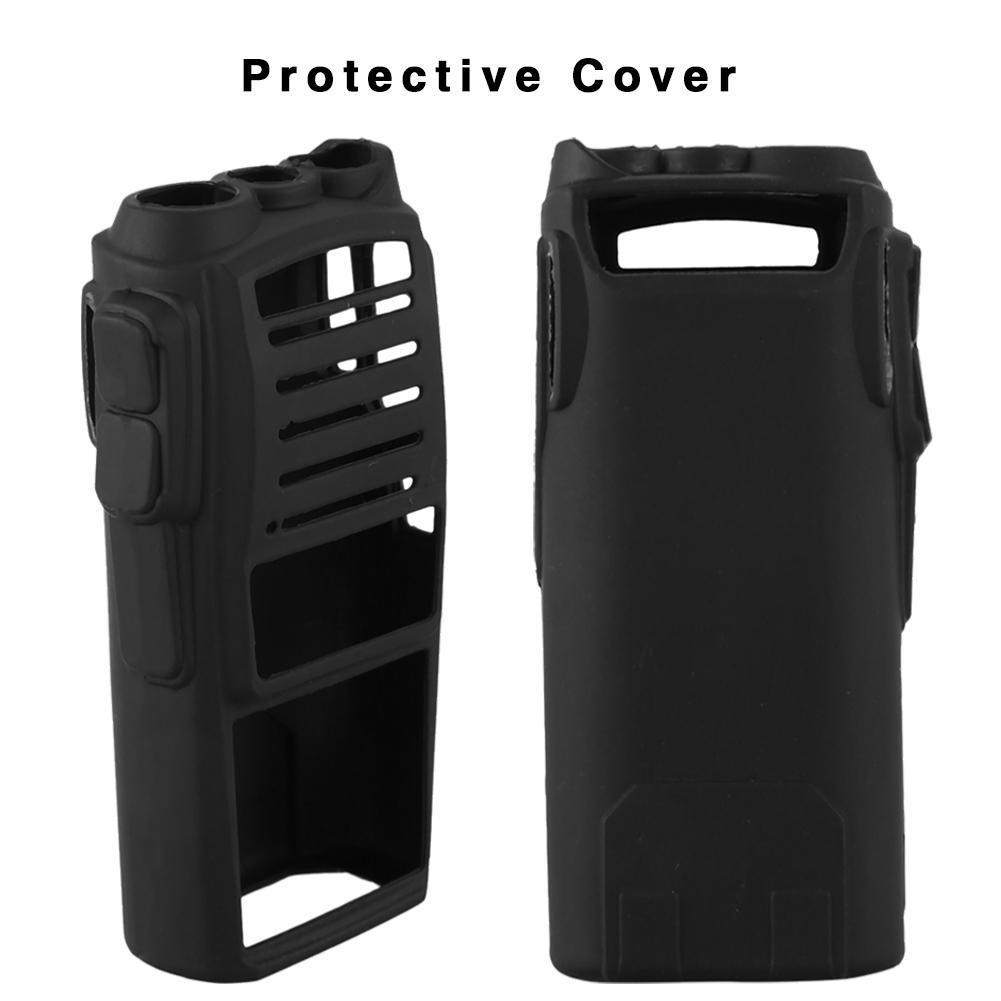 Handheld Soft Silicone Case Protectve Cover For UV82 Radio Walkie Talkie For Hospital Restaurant High Quality