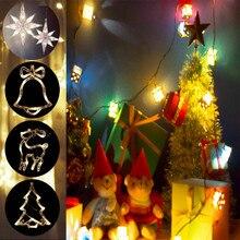 Star LED String Fairy Lights Battery Window Lamp Christmas Xmas Party Home Decor Christmas Light Holiday Wedding Decorative Lamp holiday lights huge meteor five pointed star led light string 23cm eu plug xmas christmas wedding valentine day fairy decor cf
