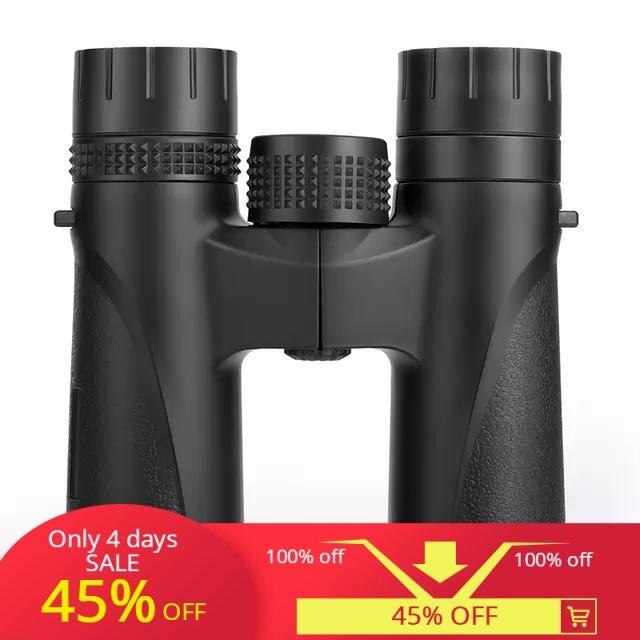 BIJIA 12x27 Compact Binoculars Long Range HD Powerful Mini Telescope BAK4 FMC Optics Hunting Sports Camping