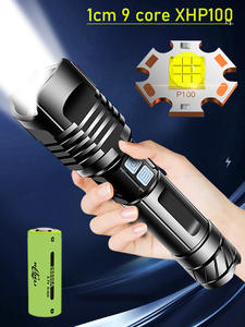 LED Flashlight Hand-Lamp Led-Torch Most-Powerful XHP90 Usb Rechargeable Super-Xhp100