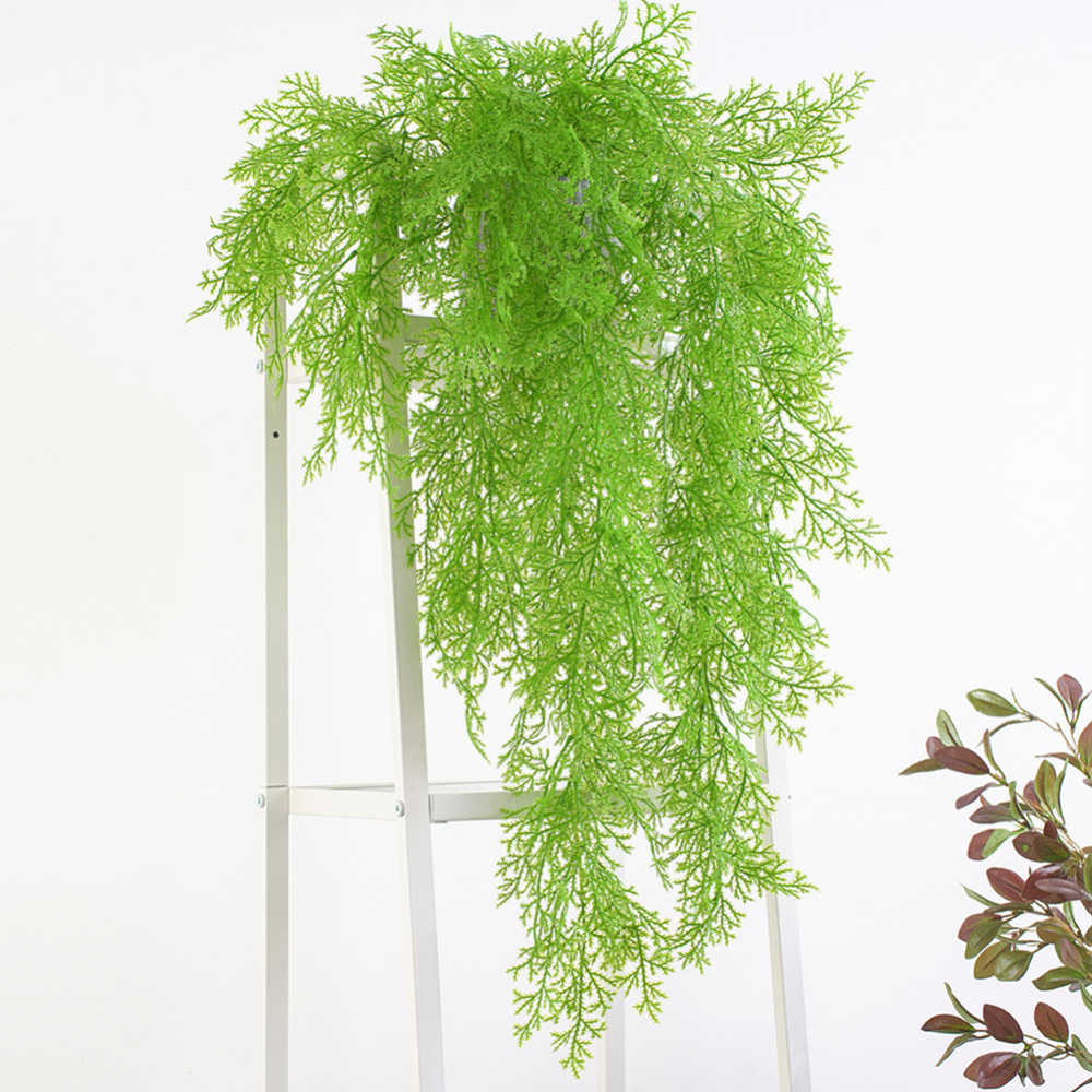 Plante verte artificielle vignes tenture murale Simulation plante rotin jardin salon Club Bar décoré fausses feuilles plante verte