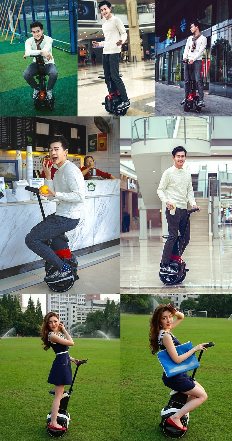 I-ROBOT-GO Electric Scooter Adults Two Wheel Self Balancing Scooters 48V 1200W Powerful Electric Scooter With SeatAPP  (3)