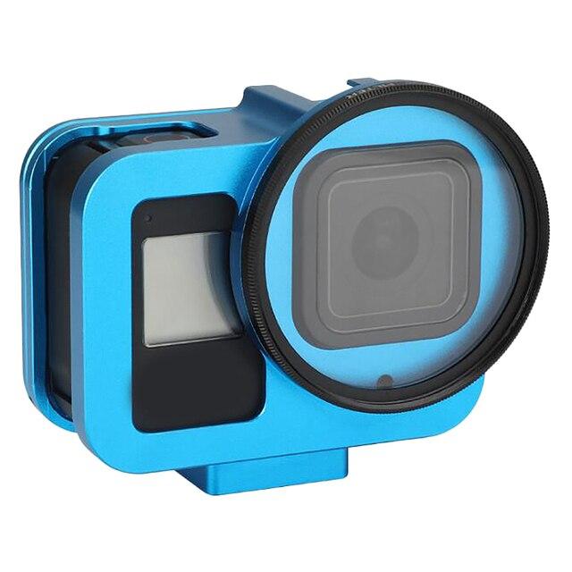 Для GoPro8 алюминиевая рамка металлическая клетка для собак защитный чехол Аксессуары для спортивной камеры