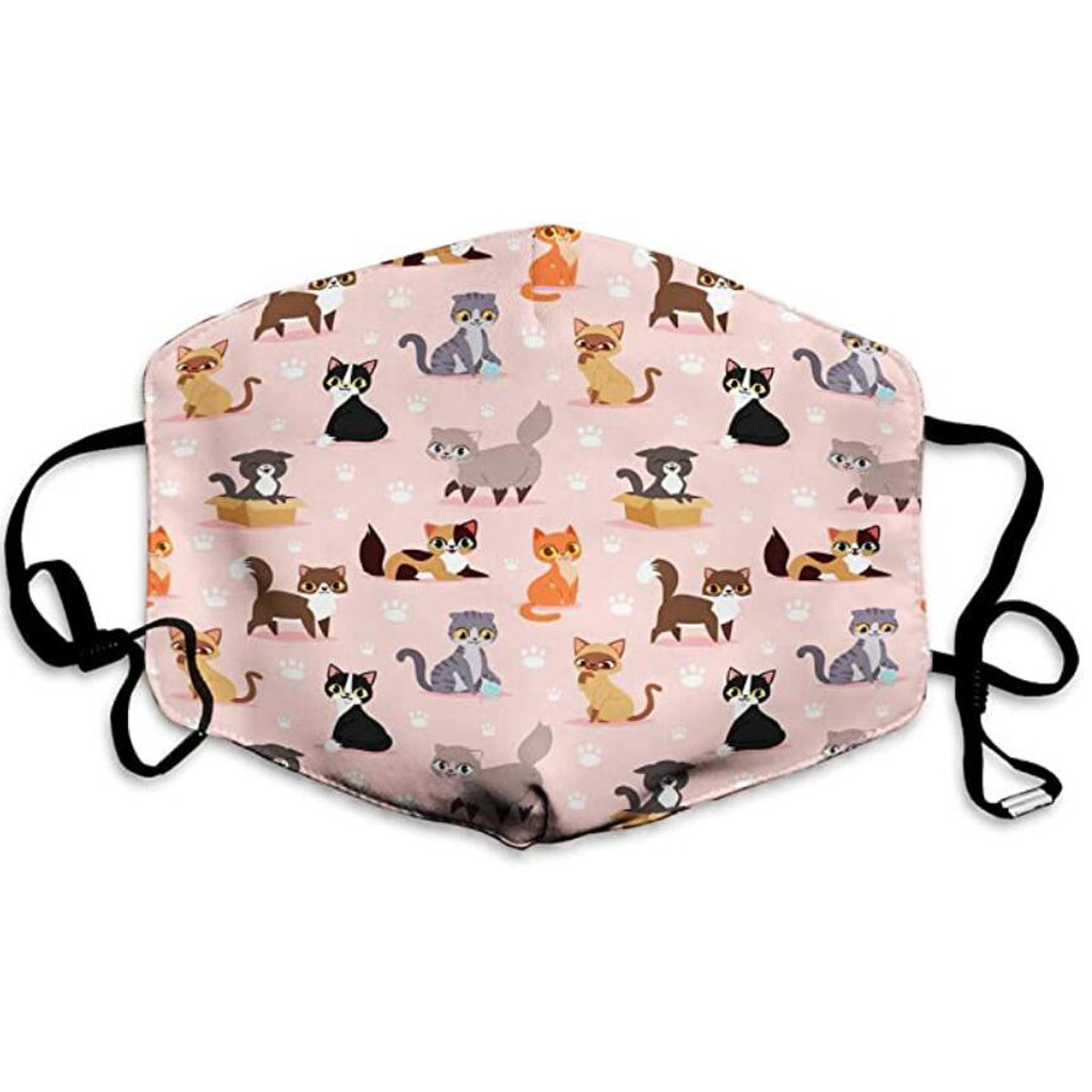 Cute Print Mouth Masks Washable Outdoor Windproof Anti Dust Mask Protective Respirator Breathable Mascarillas