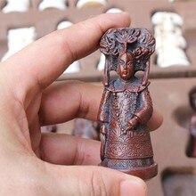 Набор античных шахматных фигурок из смолы, большие шахматные фигурки, кожаные шахматы, настольные игры, подарки родителю и ребенку на Рожде...