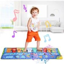 3 tipos multifunction instrumentos musicais tapete teclado piano bebê jogar esteira brinquedos educativos para crianças presente