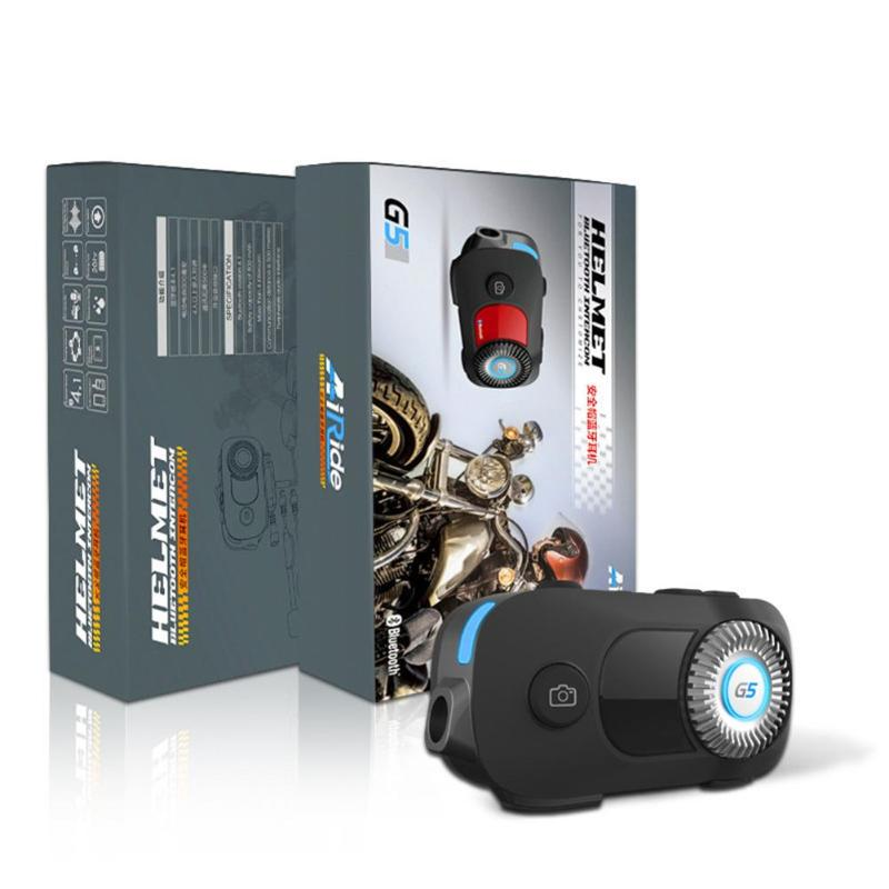 Universal 1080P HD Camera Motorcycle Helmet Headset Waterproof 4 Riders 500m Wireless Bluetooth 4.1 Intercom Interphone