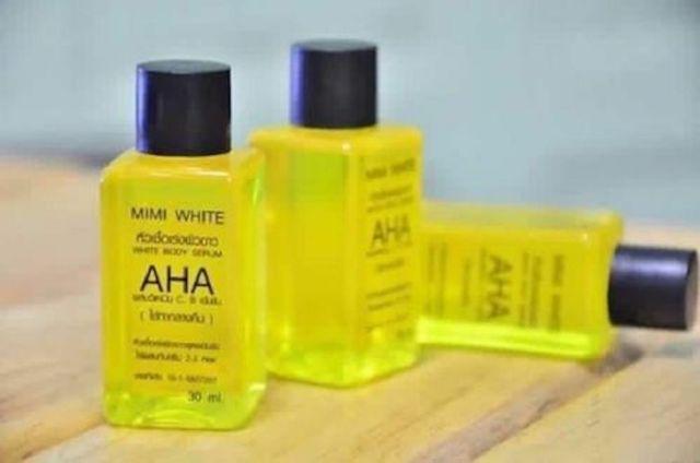 Bleaching Körper Serum Bleichen Aufhellung Haut, AHA,Vitamin B,C 30 ml Bleichen Dark Spot Serum