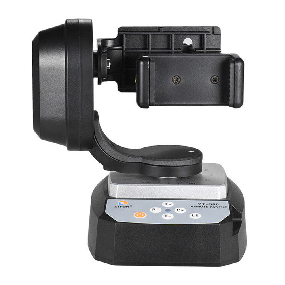 Smartphone Rotatable Live Streaming Selfie Auto Holder <font><b>Remote</b></font> <font><b>Control</b></font> Motorized Pan Tilt Video Tripod Head For <font><b>Gopro</b></font> Hero Camera image