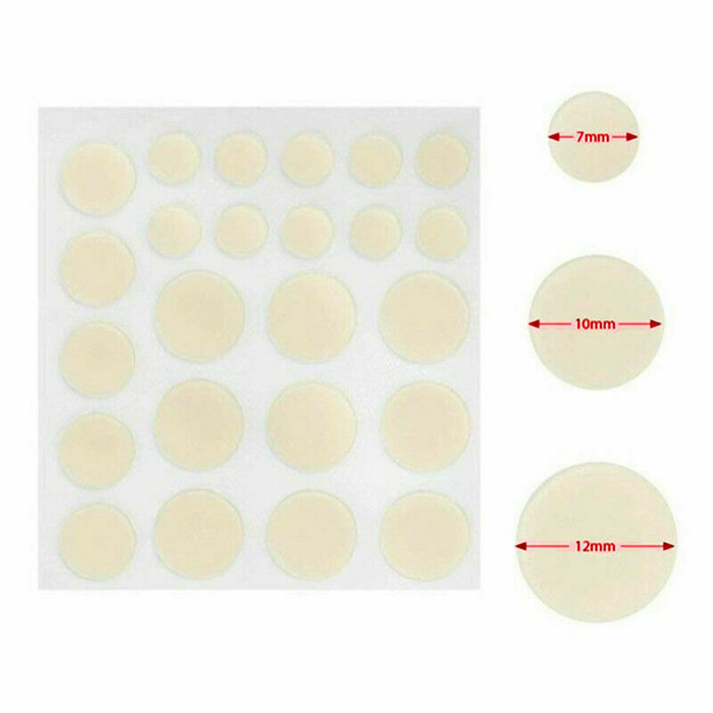 Acne Pimple Healing Patch - Absorbing Cover, Invisible, Blemish Spot, Hydrocolloid, Skin Treatment, Facial Stickers Blends