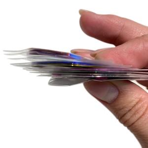 Image 5 - 30 Chiếc Hỗn Hợp Nhiều Màu Sắc Làm Đẹp CuộN Lột Đề Can Giấy Bạc Đầu Băng Dòng Tự Làm Móng Thiết Kế Nghệ Thuật Miếng Dán Móng Tay, Dụng Cụ đồ Trang Trí