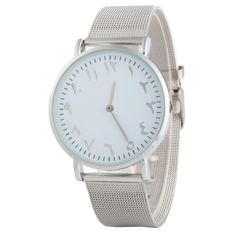 New Slim Men's And Women's Watches JOOM Recommended Wish Hot Style Steel Band Quartz Watches A Undertakes To Tadpoles