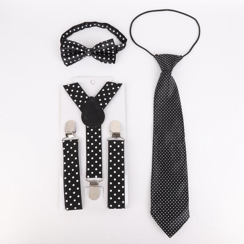 Kids Baby Wedding Party Matching Braces Suspenders Luxury Cute Bow Tie Set UK