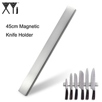 18inch Magnetic Knife Holder 304 Stainless Steel Block Storage Holder Super Strong Suction Rack Knives Stand For Metal Knife