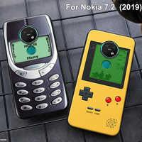 2019 For Nokia 7.2 Case Nokia7.2 2019 Soft Silicone TPU Back Cover cases For Nokia 7.2 2019 Phone Case protective bumper