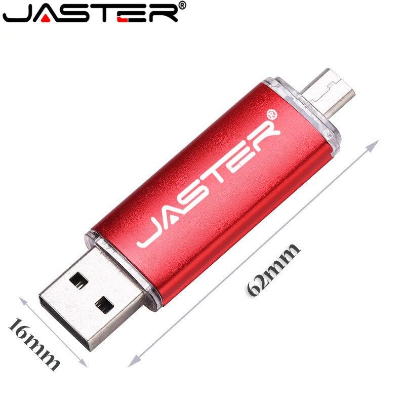 Smart Phone PC USB Flash Drive Pen 4GB 8GB 16GB 32GB Mini Usb OTG External Storage Micro Usb Memory Stick Pen Drive Pendrive