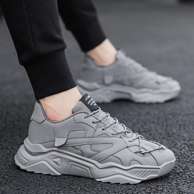Male Platform Sneakers Height