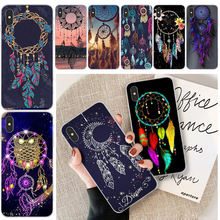 The dream catcher mandala TPU Soft Phone Case Cover For iphone 6 6s plus 7 8 plus X XS XR XS MAX 11 11 pro 11 Pro Max Cover(China)