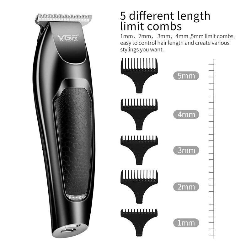 Aparador de cabelo profissional máquina de cortar