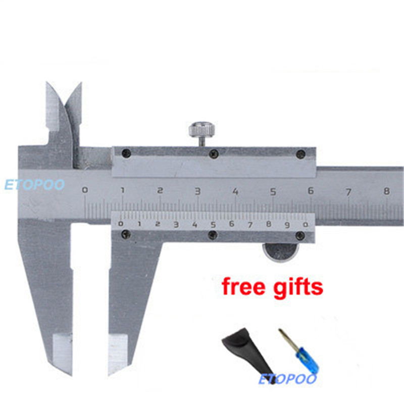 70mm 100mm 150mm 200mm 300mm Mini Vernier Caliper Steel Hardened Metric Machinist Vernier Caliper Thickness Gauge Micrometer