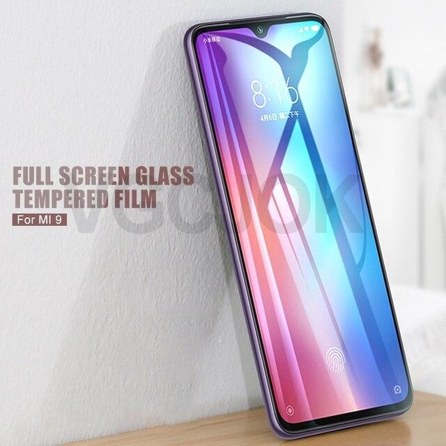 9H hardness Tempered Glass For Xiaomi Mi 9 Lite 9T Pro Mi9 SE Screen Protector Mi 8 A3 Lite CC9 CC9E Play Glass Protection Film 2