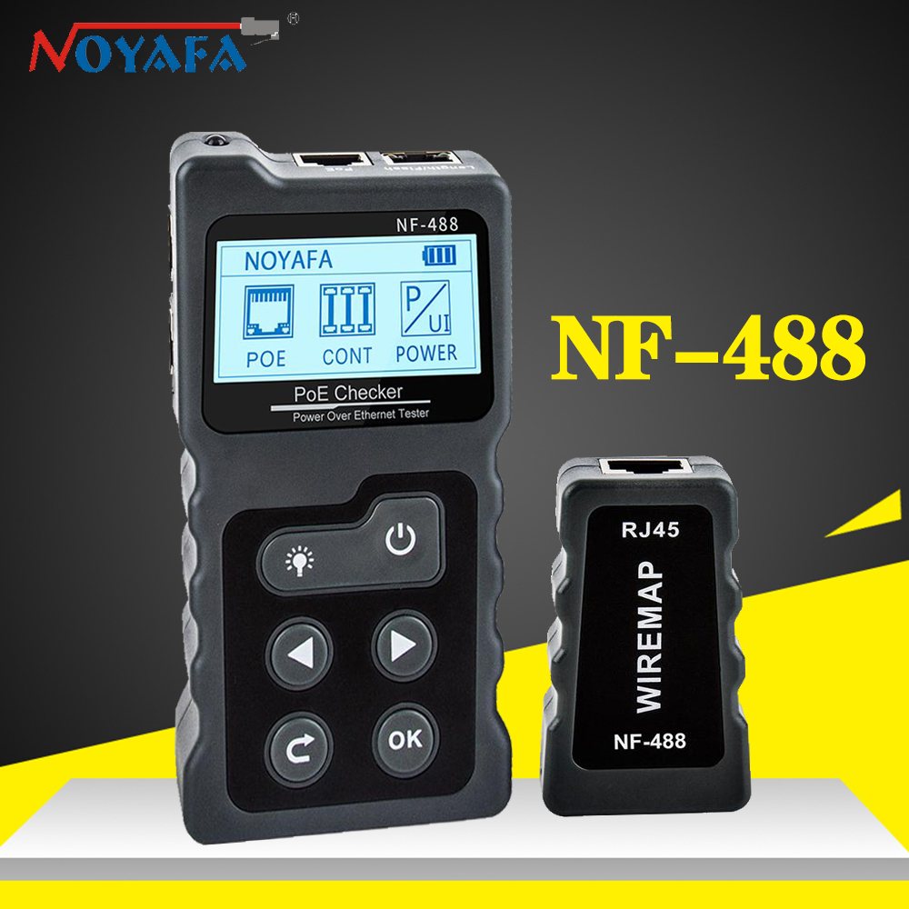 Noyafa Nf 488 Lan Tester Cable Tracker Poe Switch Rj45 Digital Ethernet Cat5 Cat6 Test Networking Lcd Display Network Tools Best Offer 5833 Coaching Hearttoheart