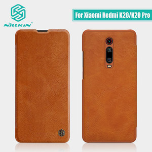 Image 2 - حافظة هاتف Redmi K30 Pro K30Pro K30S NILLKIN Qin أغلفة جلدية لهاتف شاومي بوكو X2 F2 Pro X3 NFC Funda جراب Mi 10T Pro Coque