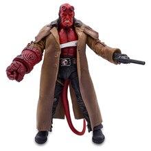 MEZCO Hellboy Anung Un Rama Action Figure Cloth Gown Sword Gun KO  Mike Mignola Big Baby Variant Comic Movie Toys Doll