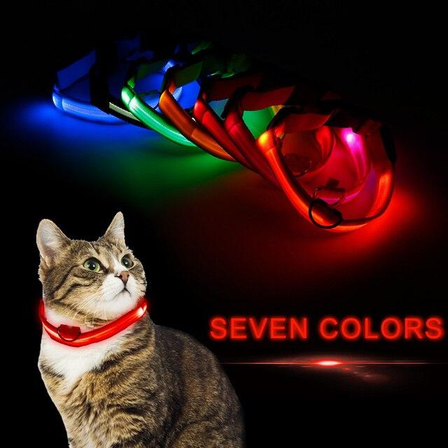 Glow In The Dark Dog & Cat Collar 4