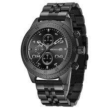 ミニフォーカスファッション腕時計男性防水スポーツメンズ腕時計トップブランドの高級ステンレス鋼masculinoのリロイのやつ