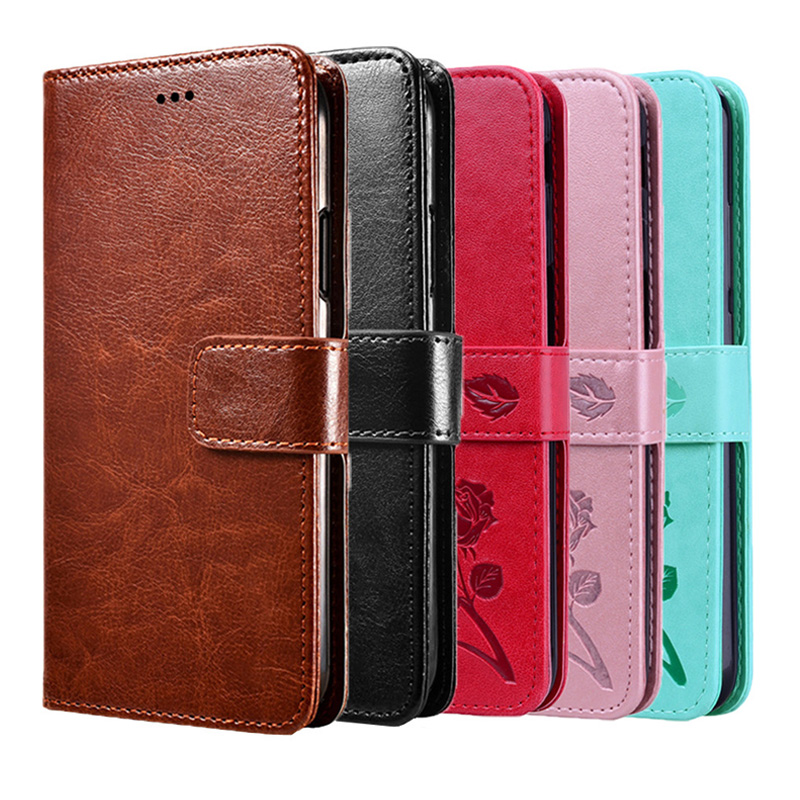 Luxury Quality Wallet Leather Case for LG K5 X220 <font><b>X220DS</b></font> Soft TPU Cover Inside Flip Cases for LG K7 M1 Tribute 5 X210 X210DS image