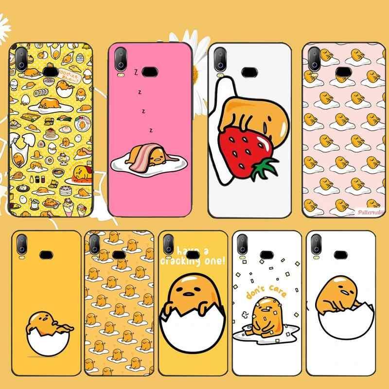Penghuwanかわいい素敵なgudetama怠惰な卵電話ケースA10 A20 A30 A40 A50 A70 A71 A51 A6 A8 2018