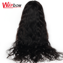Brown Lace Wig For Women Brazilian Human Hair Body Wave Wig 4*4 Lace Closure Wig Natural