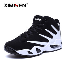 Ximisen Mannen Sneakers Nieuwe Lace-Up Mannen Schoenen Antislip Wearable Grote Maat Casual Schoenen Plus Retro Trend mannen Mode Laarzen 2020(China)