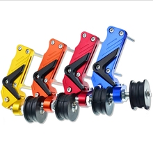 ATV Motorcycle Motocross Aluminum Adjuster Chain Tensioner Tool Regulator Accessories Roller Universal