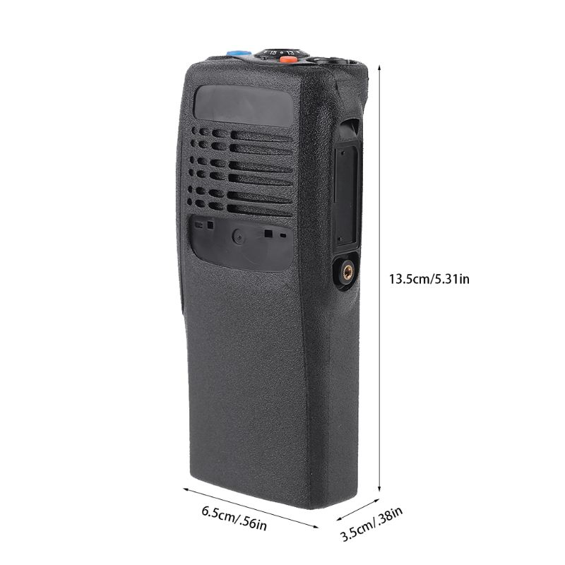 Black Housing Case Front Cover Shell Dust Cover For Motorola GP328 GP340 Radio