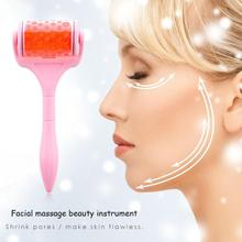 Plastic Face Ice Muscle Roller Skin Care Lifting Shrinking Massager Facial Tool