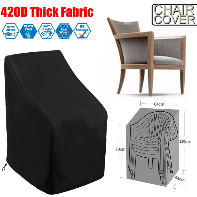 Waterproof Outdoor Stacking Chair Cover