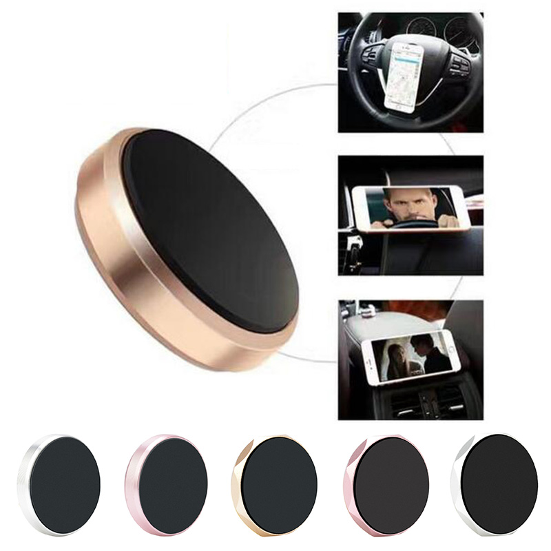 Universal Magnetic Car Dashboard Holder Stand Magnetic Car Phone Bracket Lazy Mobile Phone Holder For Iphone Huawei Samsung