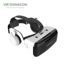 HiMISS VR Virtual Reality 3D Glasses Box Stereo VR Google Cardboard Headset Helmet for IOS Android Smartphone,Bluetooth Rocker vr virtual reality glasses men women glasses 3d glasses vr headset box virtual viewer eye trave for google cardboard smartphone