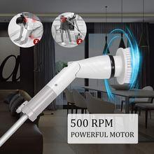 Электрическая вращающаяся скруббер 360 беспроводная Ванна и