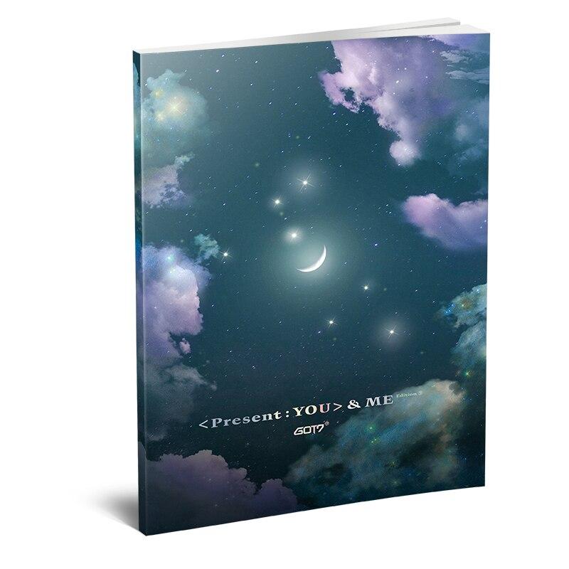 Kpop GOT7 Present GOT7 PRESENT : YOU ME New Album Photobook Fashion GOT7 Mini Photo Album Photo Card Fans Souvenir Gifts